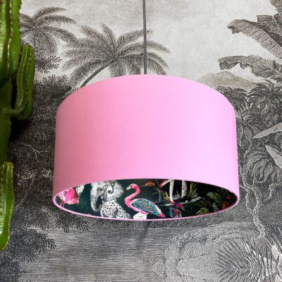 Emerald ChiMiracle Lampshade In Candy Floss Pink